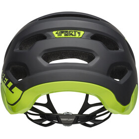 Bell 4Forty Helmet cliffhanger matte/gloss black/bright green